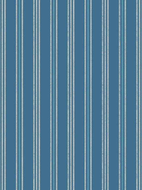Thalassophile - Coastal Stripe on Dark Blue