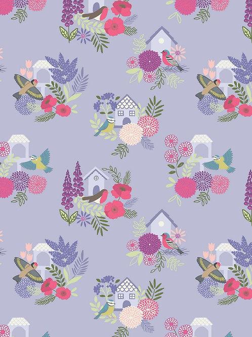 Bird Houses on Lilac