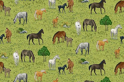 Makower 'Village Life' Horses