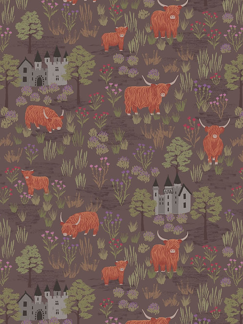 Loch Lewis - Castles and Cattle on mocha