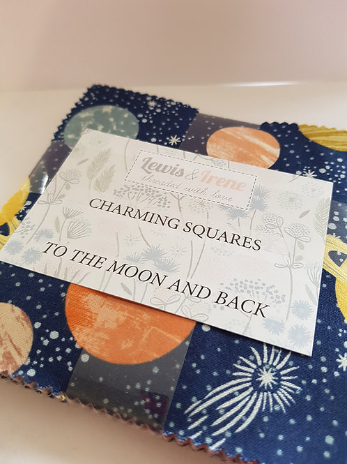 Lewis & Irene - To the Moon and Back Charm Squares