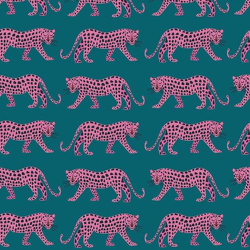 Dashwood Studio 'Night Jungle' Pink Leopards