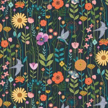 Dashwood Studio 'Aviary' Meadow on Dark