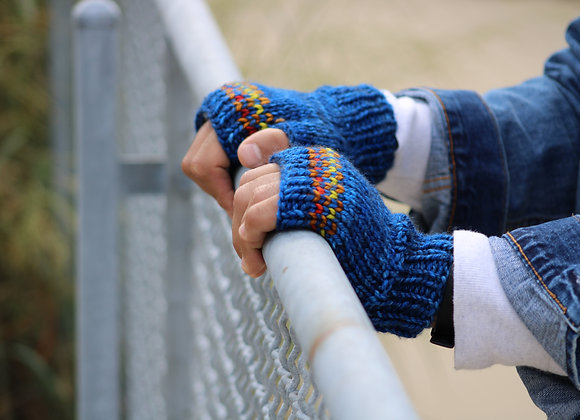 Lonka Fingerless Mittens Pattern