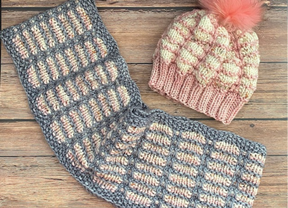 Jaylah (Hat and Infinity Scarf Patterns)