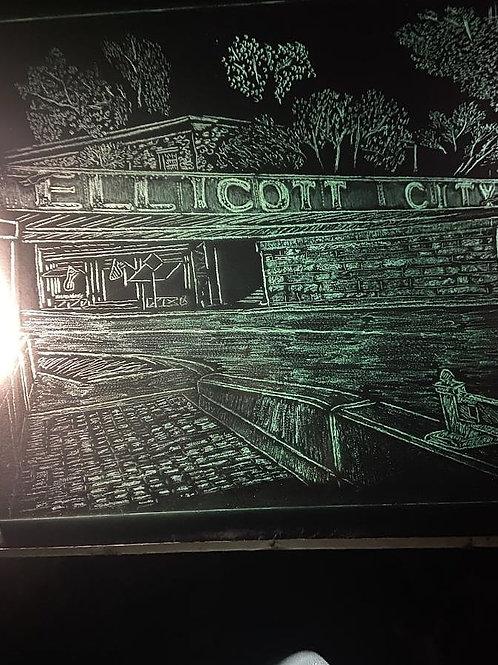 Ellicott City, MD bridge 15x18