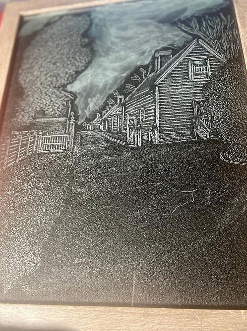 Buildings at Mount Vernon 16x12
