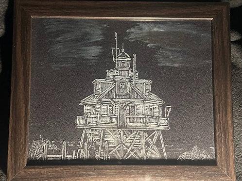 Thomas Point Lighthouse 12x14