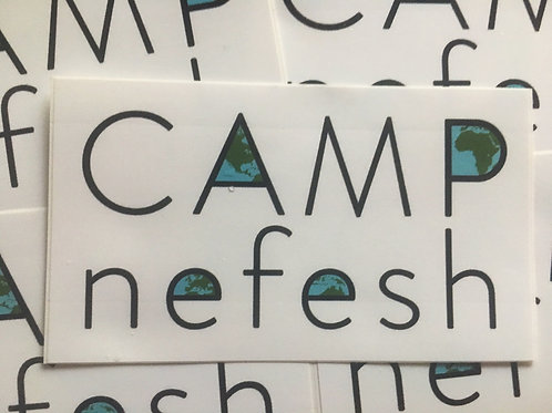 Camp Nefesh Sticker