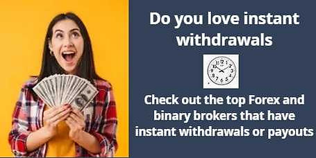 Instant withdrawal brokers strategicinvestor.net