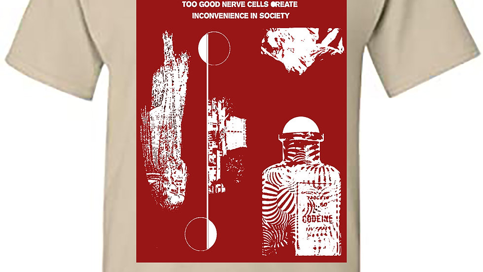 Yasuyuki Uesugi - Too good nerve cells...T-shirt