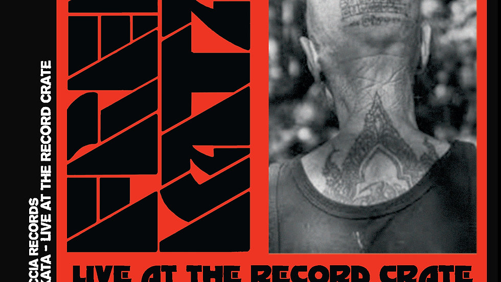 Free Kata - Live at the Record Crate - CD in Digicase