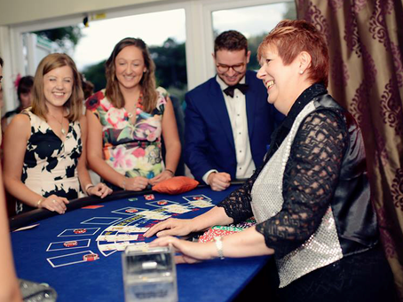 Why have a fun casino at your wedding?