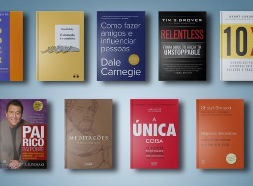 Os 9 melhores livros de autoajuda de todos os tempos que eu nunca li.
