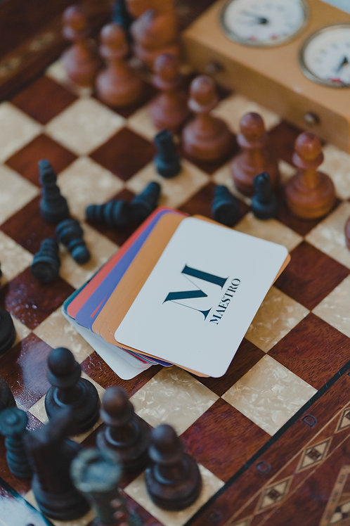 Maestro Deck - As cartas do convencimento