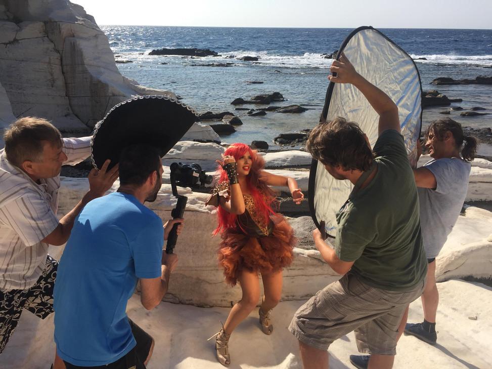 Video clip behind the scenes Doinita Ghe