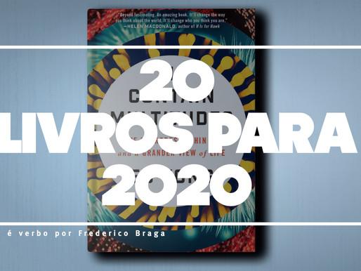 20 livros [FORA DA CURVA] para 2020