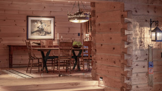 Dining Room with Dovetail Joints