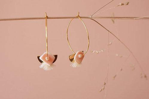 boucles d'oreilles Agave
