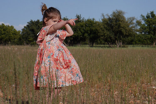robe Galane fleurie