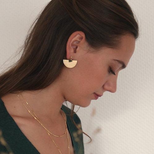 boucles d'oreilles Montenoa agate
