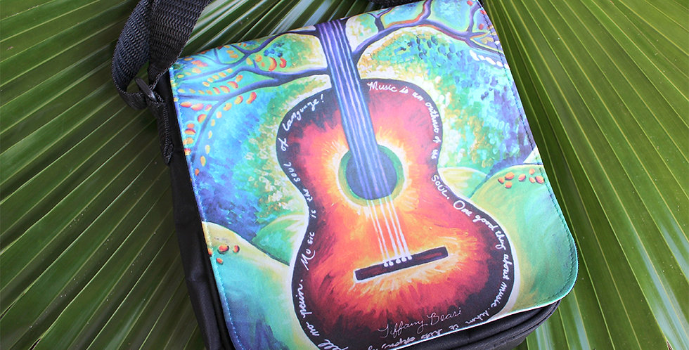 """Grow Some Music"" Small Art Purse"