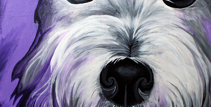 I Promise, West Highland Terrier Original Painting