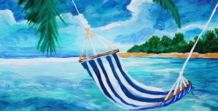 Relax Original Painting