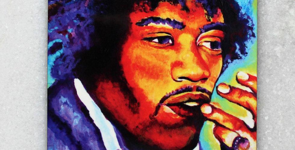 Jimi Hendrix Set of 4 Collectible Coasters
