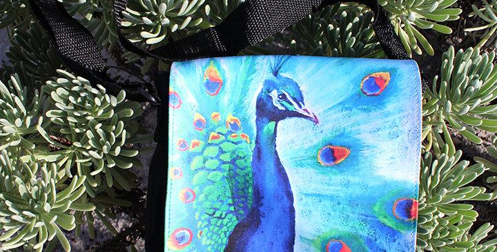 Beautiful Peacock Shoulder Purse