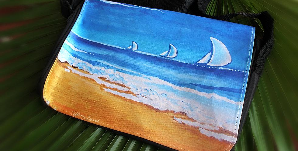 Balanced at Sea Large Purse