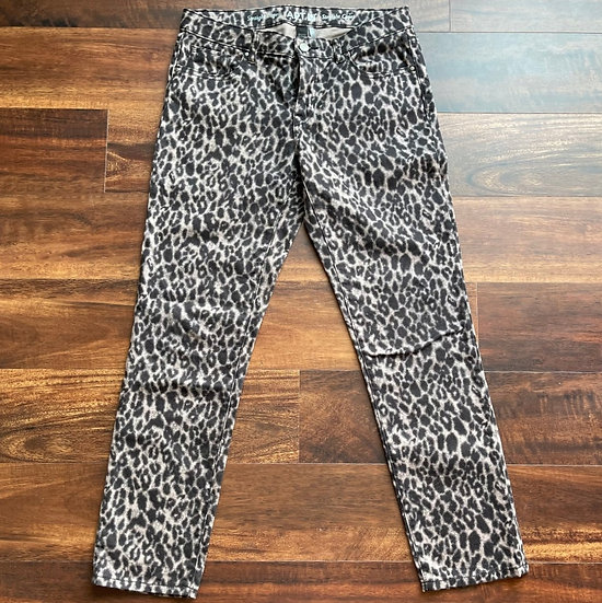 Apt. 9 Leopard Straight Capri Pants