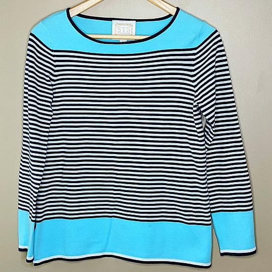 Sail to Sable Striped Long Sleeve Shirt