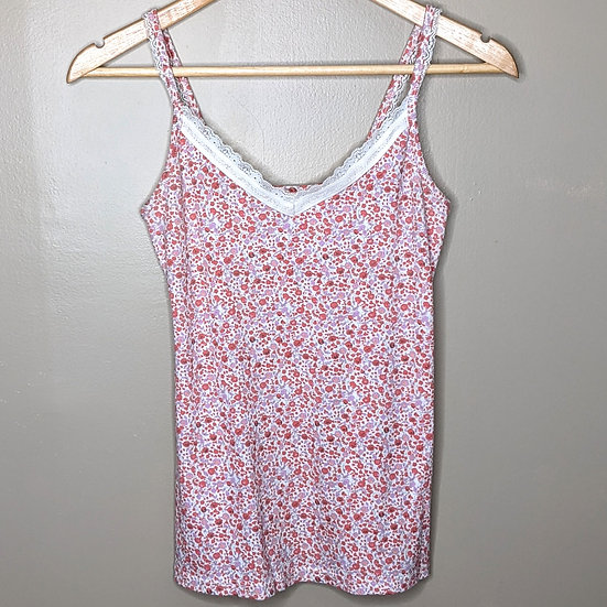 Old Navy Floral Lace Camisole