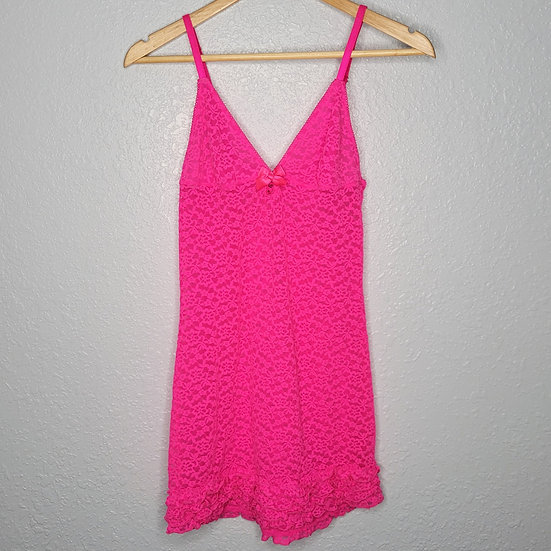 Victoria's Secret Sheer Lace Babydoll Nightgown