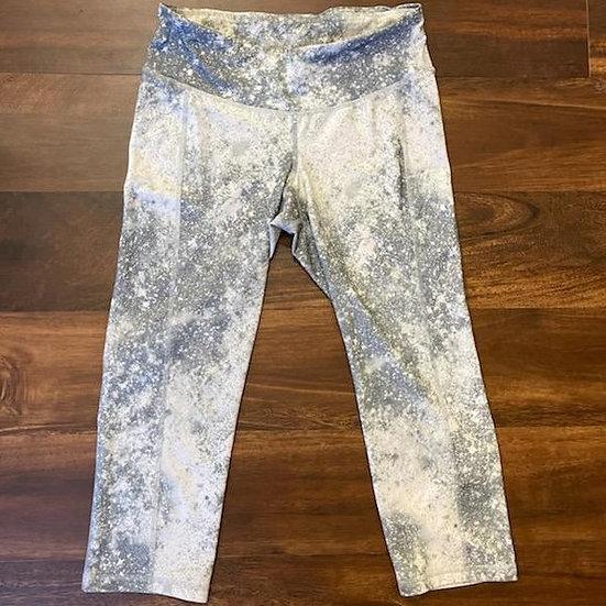 Old Navy Active Galaxy Cropped Yoga Capri Pants