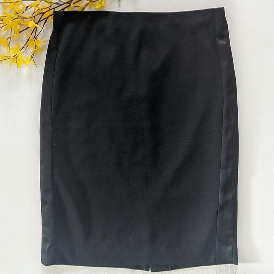 Charter Club Black Zip Up Pencil Skirt