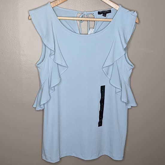 Banana Republic Ruffle Sleeveless Blouse