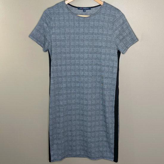 One Clothing Plaid Short Sleeve Shift Dress