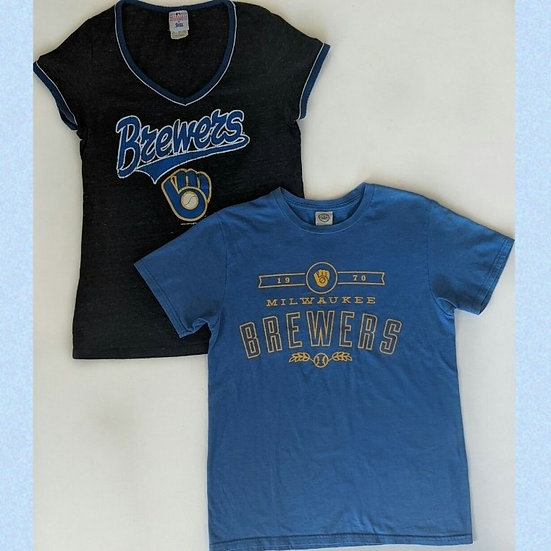 MLB Milwaukee Brewers Short Sleeve Shirts Bundle
