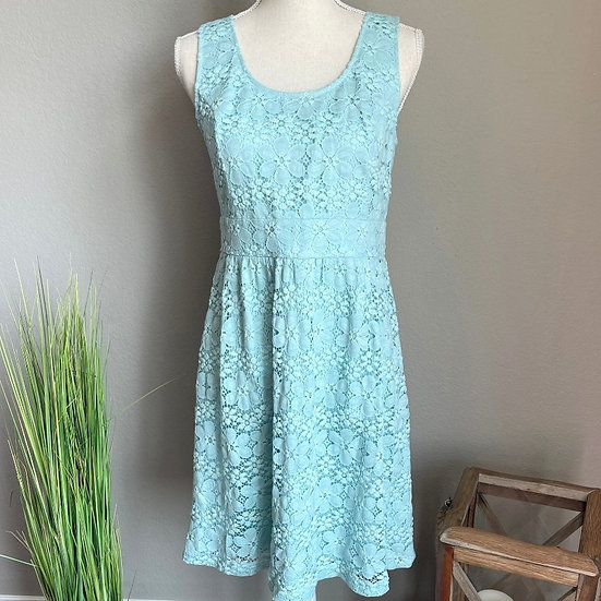 Ann Taylor LOFT Lace Sleeveless Dress