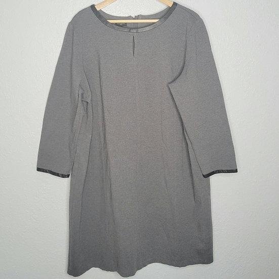 Talbots 3/4 Sleeve Midi Shift Dress