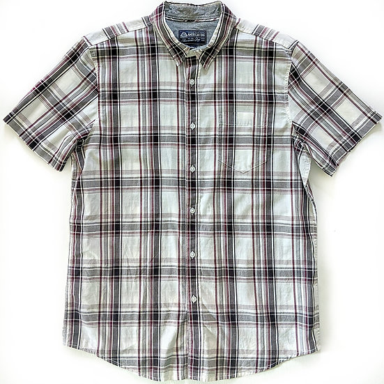 American Rag Plaid Button Down Shirt