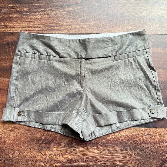 Studio Y Metallic Chino Shorts