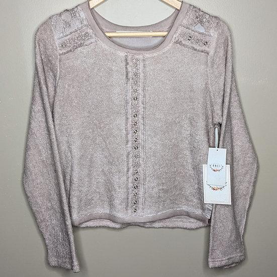BNCI Duo Lace Trimmed Sweater