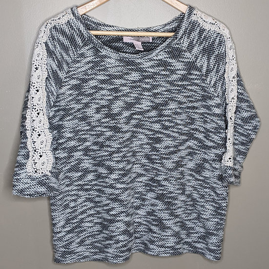 Forever 21 Knit 3/4 length Sleeve Sweater