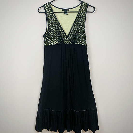BCBGMaxAzria Sleeveless V-neck Dress