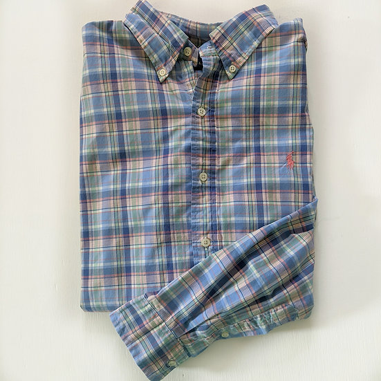 Ralph Lauren Plaid Button Down Shirt