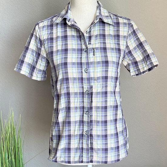 Mountain Hardwear Plaid Button Up Shirt