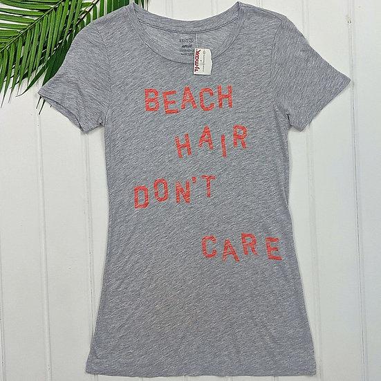 """Aerie """"Beach Hair Don't Care"""" Tee"""